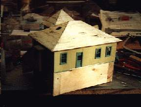 The depot-model before rebuilding