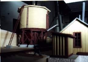 View to the watertank